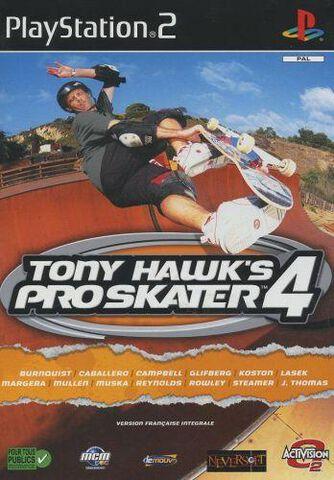 Tony Hawk 4 Pro Skater