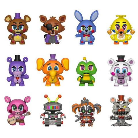 Figurine Mystère - Five Nights At Freddy's 6 - Pizza Sim - Exclusivité Micromania-Zing
