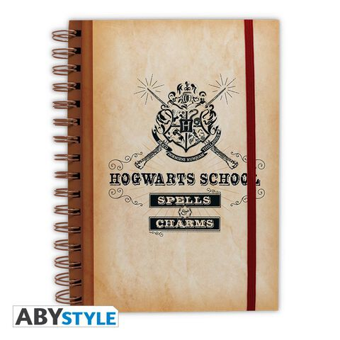Cahier - Harry Potter - Hogwarts School