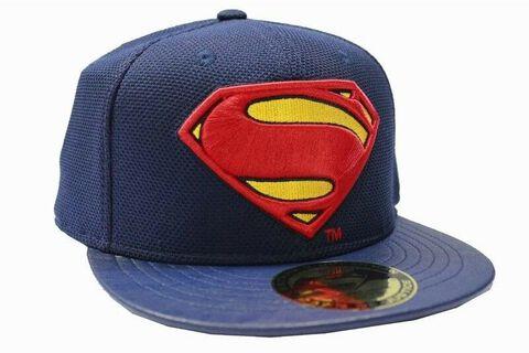 Casquette - Superman - Logo taille unique marine