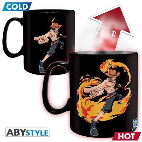 Mug - One Piece - Heat Change Luffy et Ace 460 ml