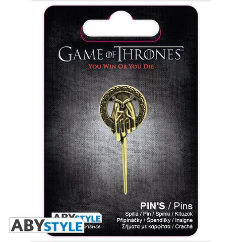 Badge - Game of Thrones - Pin's Main du roi 3D