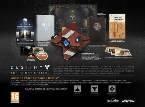 Destiny Ghost Edition - Exclusivité Micromania