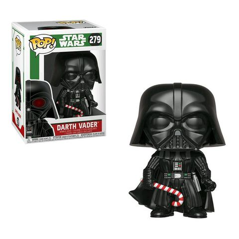 Figurine Funko Pop! N°279 - Star Wars - Holiday Dark Vador (c)