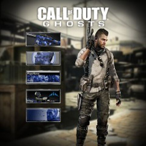 DLC - Call of Duty : Ghosts - Pack Légende - Soap PS4