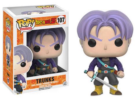 Figurine Funko Pop! N°107 - Dragon Ball Z - Trunks