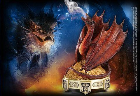 Statuette - Le Hobbit - La désolation de Smaug - Brûleur d'encens Smaug