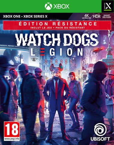 Watch Dogs Legion - Dlc - Jeu Complet One/series