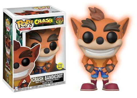 Figurine Funko Pop! N°273 - Crash Bandicoot - Crash (gitd)