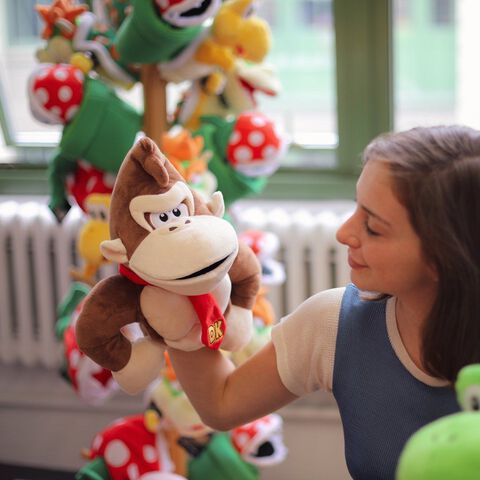 Marionnette Peluche - Mario - Donkey Kong - Exclusivité Micromania-Zing