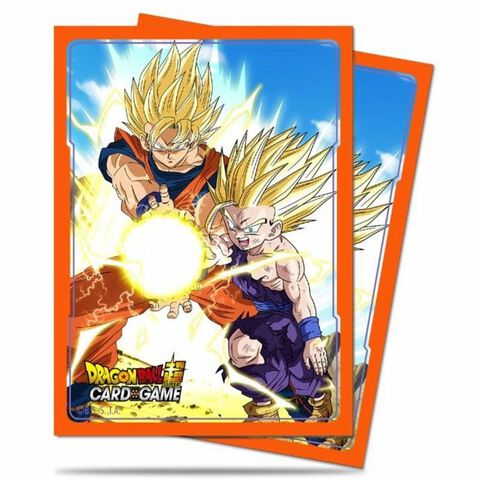 Protège-cartes - Dragon Ball Super - (65) Goku et Gohan Kamehameha