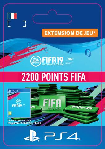 FIFA 19 - DLC - FIFA Ultimate Team - 2200 Pts - Version digitale