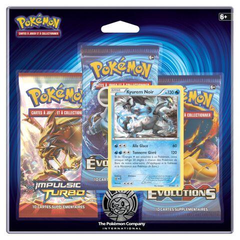 Cartes - Pack de 3 - Pokémon XY Evolutions