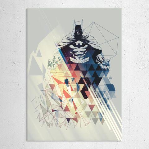 Poster Métallique - DC Comics - Batman Art