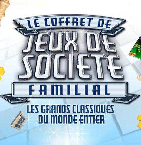 Coffret De Jeux De Societe Familial