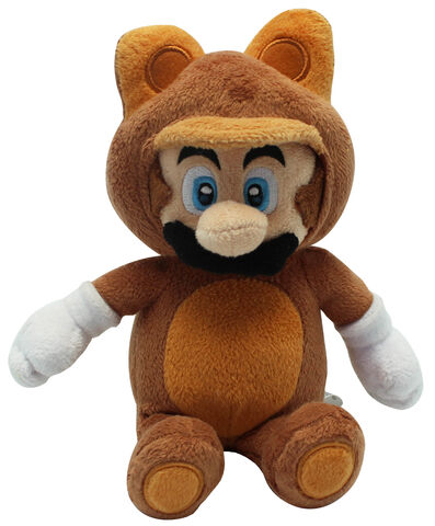 Peluche Nintendo Super Mario Tanooki Mini 21 cm