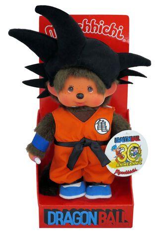 Peluche Monchhichi - Dragon Ball - Sangoku