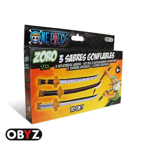 Sabre Gonflable - One Piece - Set De 3 - Zoro