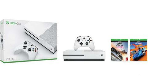 Pack Xbox One S 1to Blanche + Forza Horizon 3 + Hot Wheels