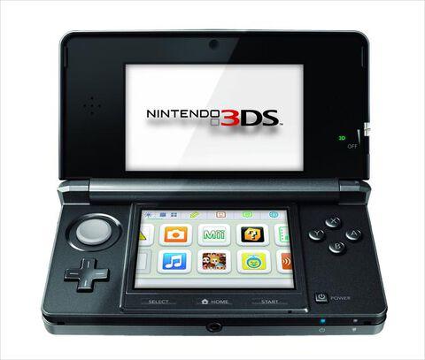 Nintendo 3DS Noir Cosmos