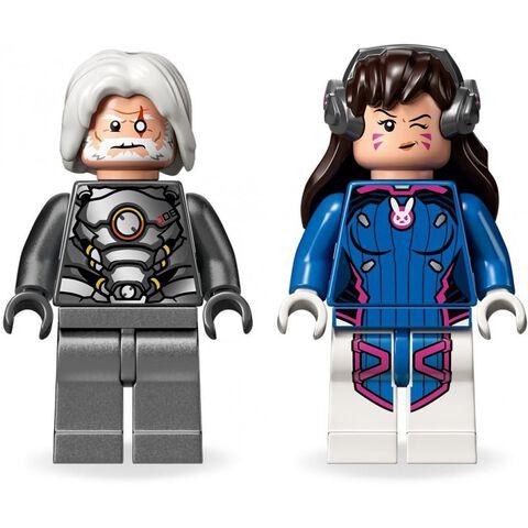 Lego - Overwatch - 75973 - D.Va et Reinhardt