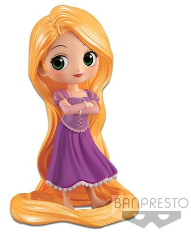 Figurine Q Posket - Disney - Raiponce Girlish Charm Version Standard