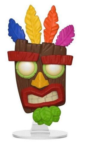 Figurine Funko Pop! N°420 - Crash Bandicoot - Aku Aku