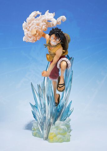 Statuette Figuarts Zero  - One Piece -  Monkey D Luffy Brother Bond