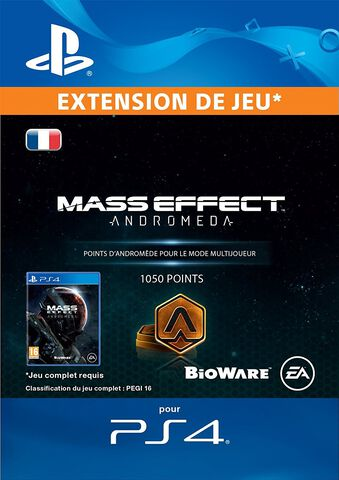 DLC - Mass Effect Andromeda 1050 Points