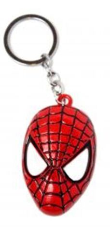 Porte-clés - Spider-Man - Tête rouge en métal
