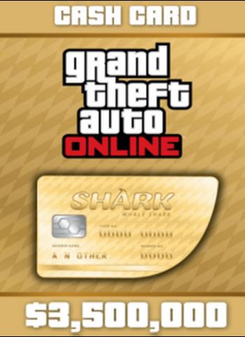 Dlc GTA V Whale Shark 3 500 000 GTA Dollars