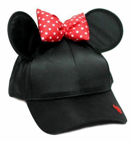 Casquette - Disney - Minnie Taille Unique Noire