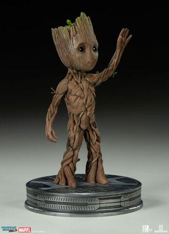 Statuette Sideshow - Les Gardiens de la Galaxie Vol. 2 - Baby Groot 28 cm
