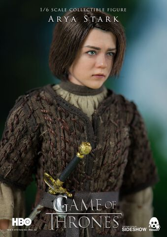 Figurine Threezero - Le Trône de Fer - Arya Stark 1/6