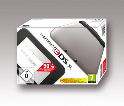 Nintendo 3DS XL Argent + Noir