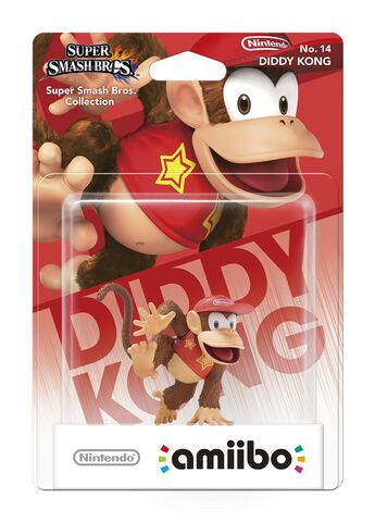 Figurine Amiibo Smash Diddy Kong