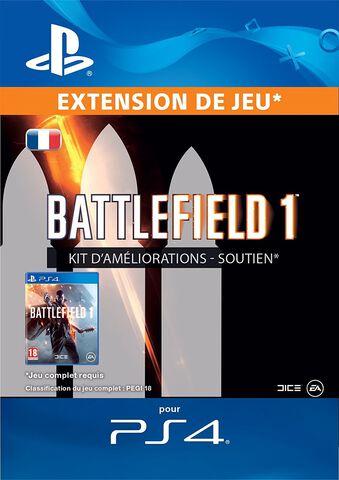 DLC - Battlefield 1 Kit Améliorations Soutien - PS4