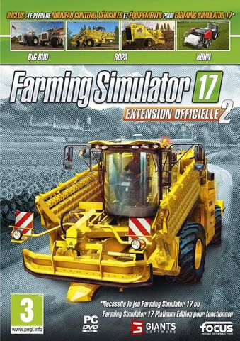 Farming Simulator 17 Extension Officielle 2