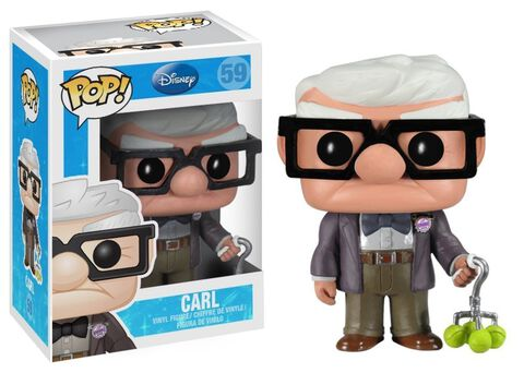 Figurine Funko Pop! N°59 - La-haut- - Carl