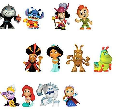 Figurine Mystere - Disney - Heroes V Villains - Mystery Mini
