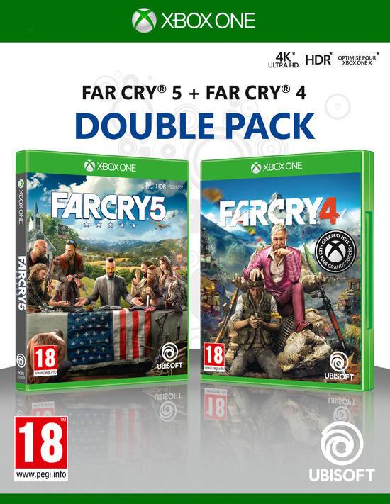 Compilation Far Cry 4 + Far Cry 5 Xbox One