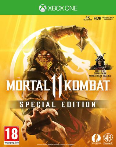 Mortal Kombat 11 Edition Steelbook (exclusivité Micromania)