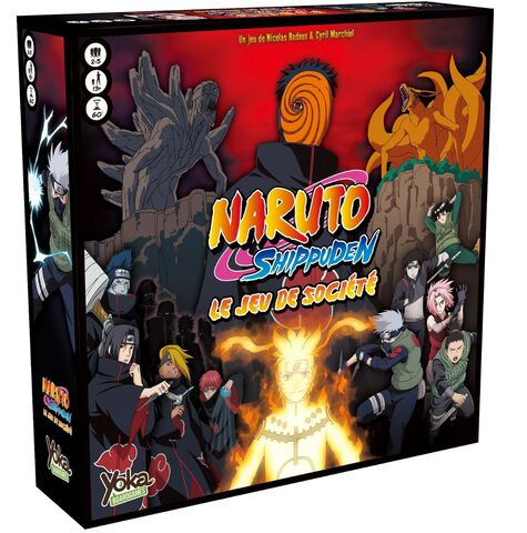 Jeu de société - Naruto Shippuden