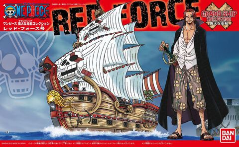 Maquette - One Piece - Red Force