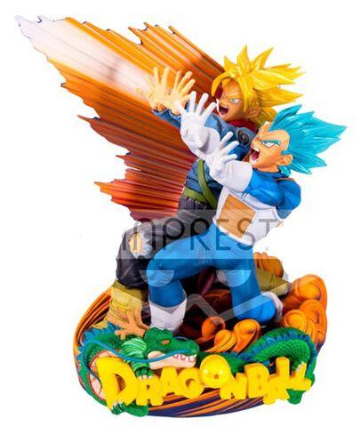 Statuette - Dragon Ball Super - Super Master Star Diorama II Vegeta&trunks Brush