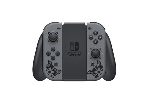 Pack Nintendo Switch  Edition Limitée Monster Hunter Rise  (code Téléchargement)