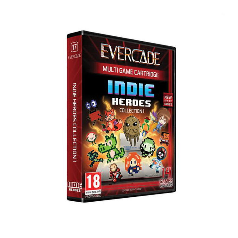 Blaze Evercade Indie Heroes Cartouche 1