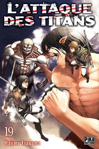 Manga - L'Attaque des Titans - Tome 19