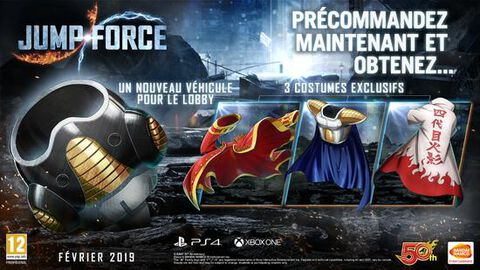 Jump Force Deluxe Edition (exclusivité Micromania)
