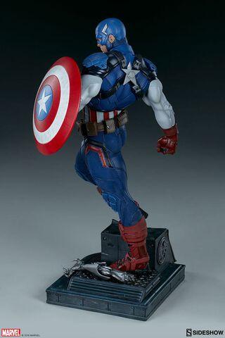 Statuette Sideshow - Marvel  Comics  - Premium Format Captain America 53 Cm